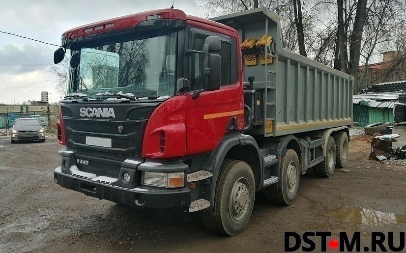 Самосвал Scania P440